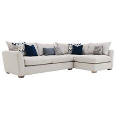 Alessia Corner Sofa with Stool - LHF