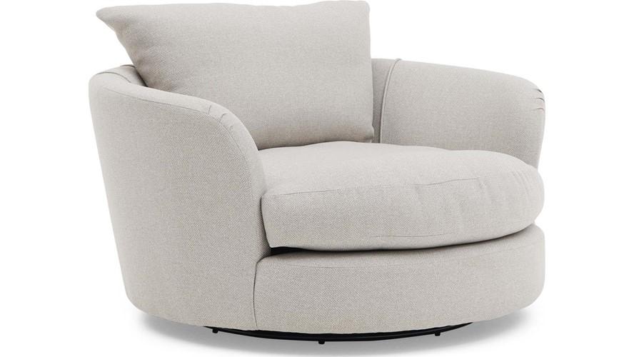 Alessia Swivel Cuddler Chair