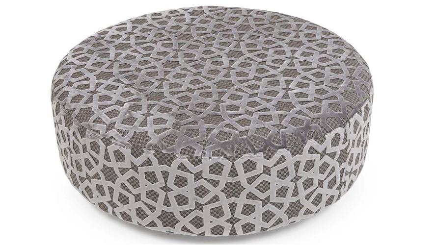 Allure Large Round Footstool