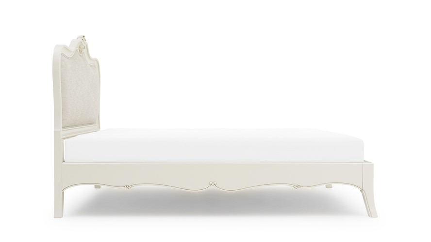 Anais Bedframe With Upholstered Headboard