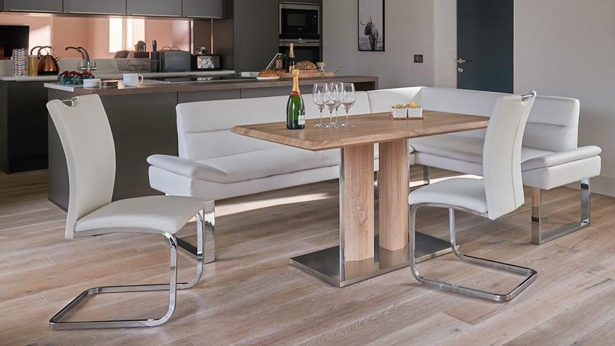 Araceli Table, Bench & 2 Chairs