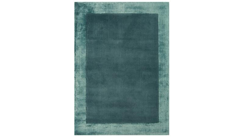 Ascot Rug - Aqua Blue
