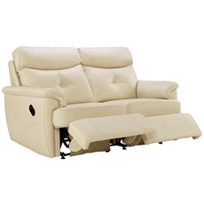 G Plan Atlanta Leather 2 Seater Recliner Sofa