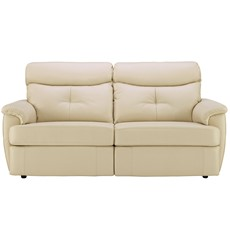 G Plan Atlanta Leather 3 Seater Sofa