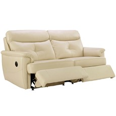 G Plan Atlanta Leather 3 Seater Recliner Sofa