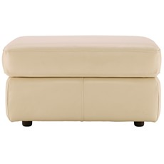 G Plan Atlanta Leather Storage Footstool
