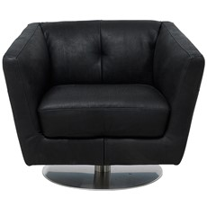 Natuzzi Editions Lucca Swivel Chair