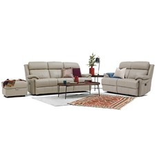 Bacchus Bacchus 3 Seater Manual Recliner & 2 Seater Manual Recliner Sofa Set