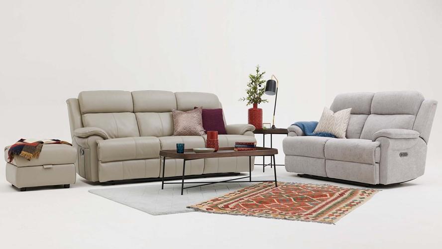 Bacchus 3 Seater Recliner Sofa