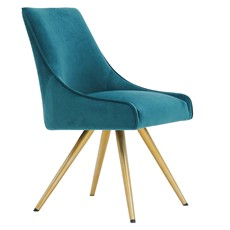 Pandora Dining Chair - Teal