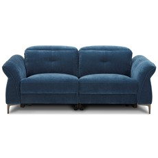 Barra 3 Seater Sofa with Manual Headrests