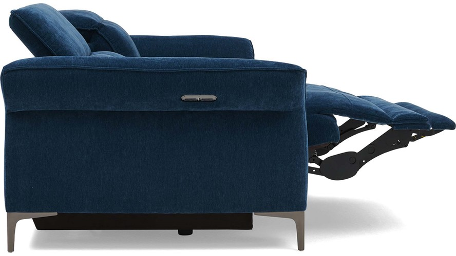 Barra 3 Seater Power Recliner with Power Headrests