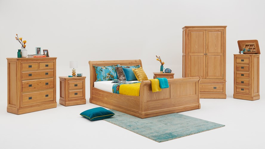 Beaufort Bedroom Package with Bed