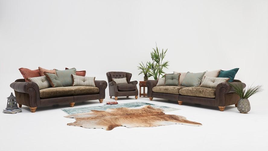 Alexander & James Bloomsbury Large Split Sofa