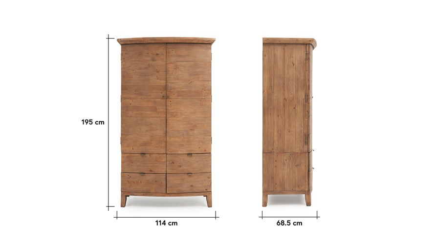 Lexington Double Wardrobe