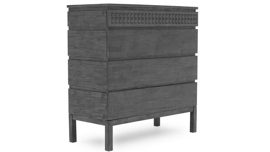Pompeii 4 Drawer Dresser