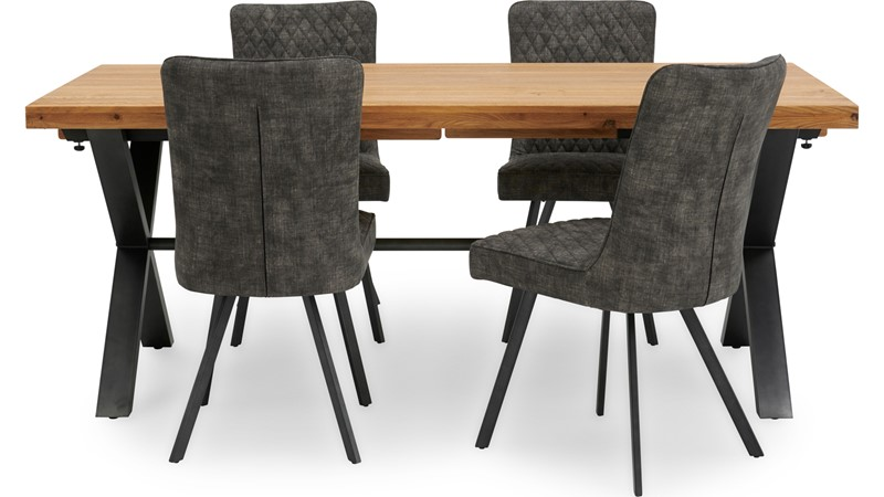 Bourton Dining Table & 4 Chairs