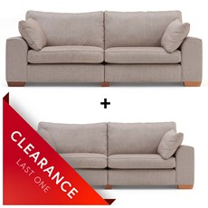 Ex-display Brandon Grand Split Sofa & Large Sofa