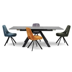 Brax Dining Table & 4 Jada Dining Chairs