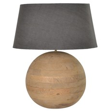 Wooden Ball Lamp