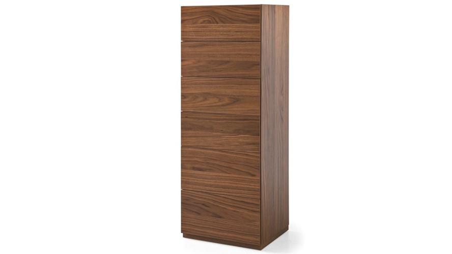 Calligaris City 6 Drawer Tall Chest