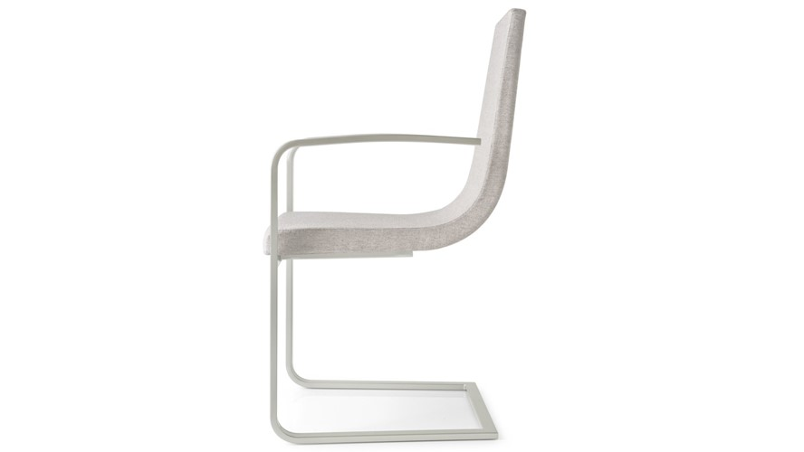 Calligaris Cruiser Cantilever Chair with Armrests