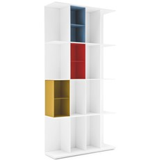 Calligaris Division 16 Compartment Bookcase