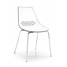 Calligaris Jam Metal-Leg Chair