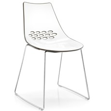 Calligaris Jam Sleigh-Leg Chair