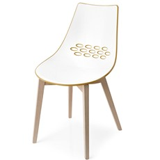 Calligaris Jam Wooden-Leg Chair