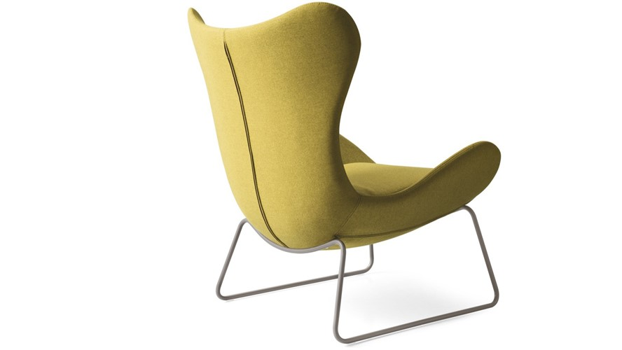 Calligaris Lazy Metal-Leg Armchair