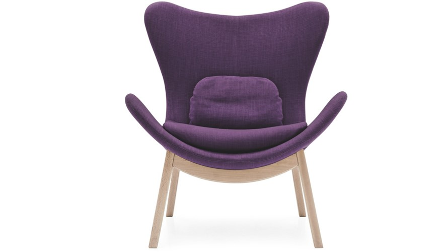 Calligaris Lazy Wooden-Leg Armchair