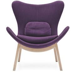 Calligaris Lazy Wooden-Leg Armchair