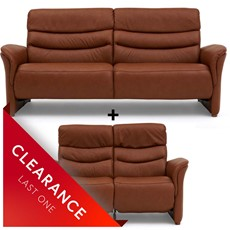 Ex-display Casper 3 Seater & 2 Seater Recliner