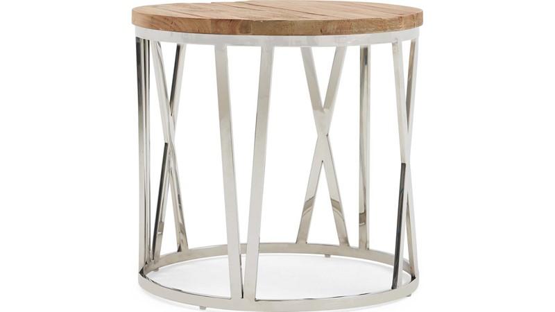Caspien Clock Lamp Table