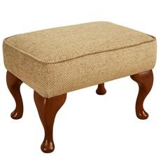 Celebrity Fabric Legged Footstool