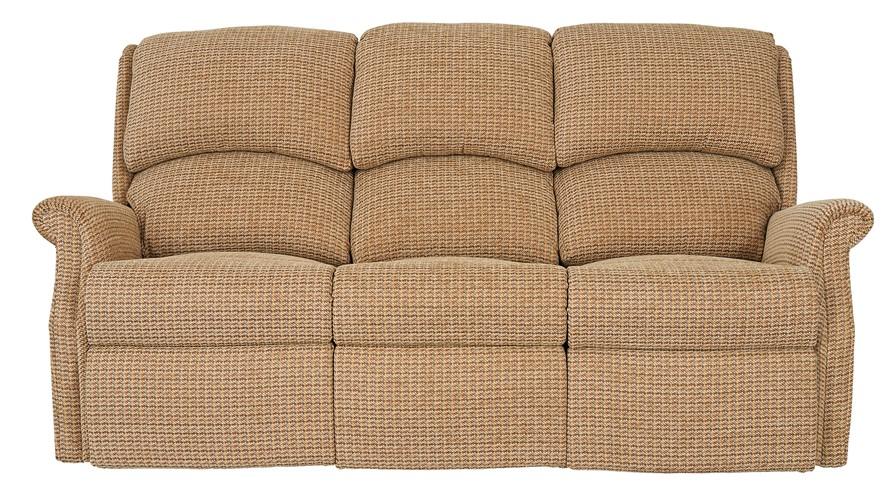 Celebrity Regent Fabric 3 Seater Fixed Sofa