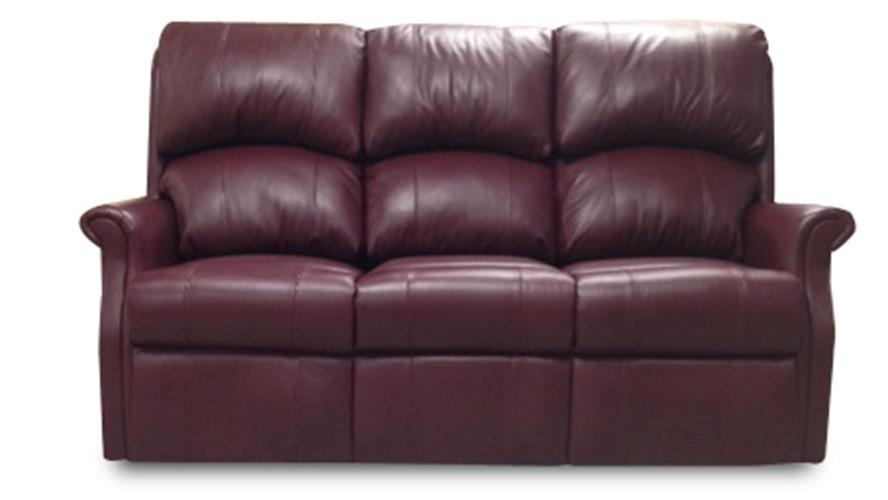 Celebrity Regent Leather 3 Seater Fixed Sofa