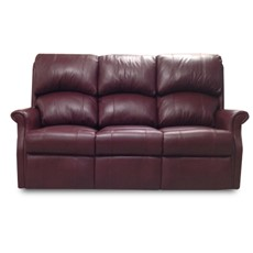Celebrity Regent Leather 3 Seater Fixed Sofa