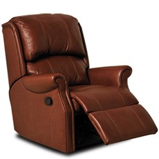 Celebrity Regent Leather Petite Recliner Chair