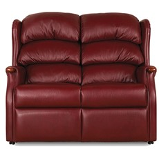 Celebrity Westbury Leather 2 Seater Fixed Sofa