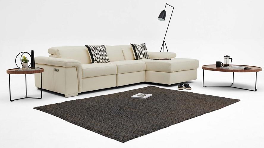 Nicoletti Ceri Power Recliner Corner Sofa