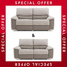 Charm 2.5 Seater Power Recliner & 2 Seater Power Recliner Sofa Set
