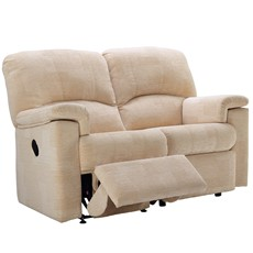 G Plan Chloe Fabric 2 Seater Recliner Sofa (Left)