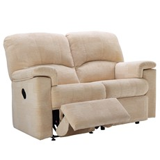 G Plan Chloe Fabric 2 Seater Recliner Sofa (Right)