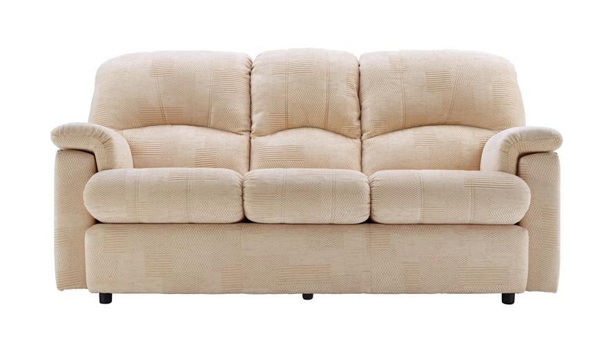 G Plan Chloe Fabric 3 Seater Sofa