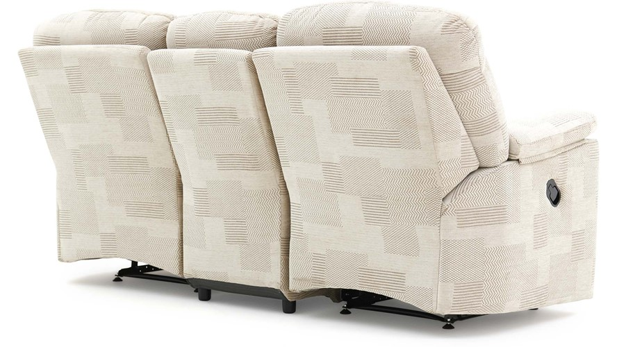 G Plan Chloe Fabric 3 Seater Recliner Sofa