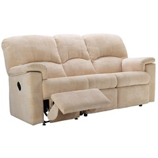 G Plan Chloe Fabric 3 Seater Recliner Sofa (Left)