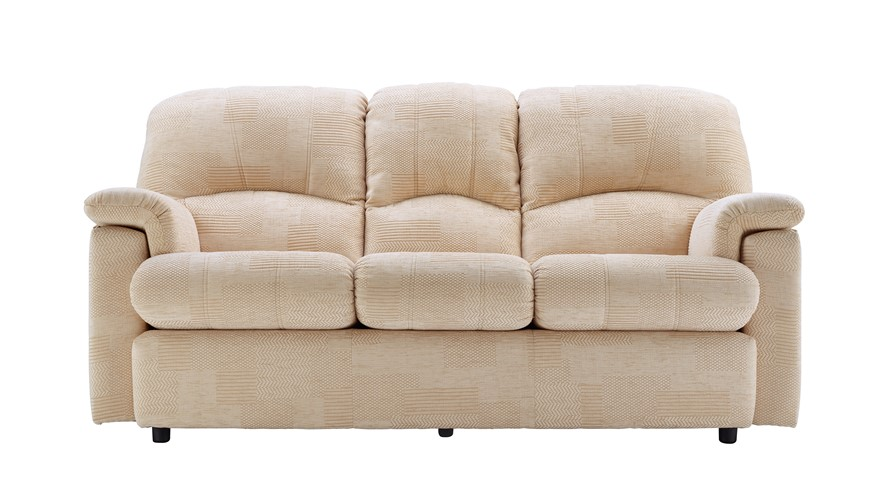 G Plan Chloe Fabric 3 Seater Recliner Sofa (Left)