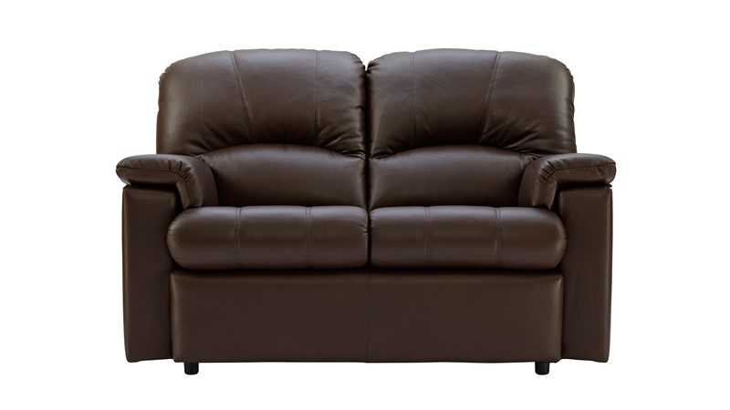 G Plan Chloe Leather 2 Seater Sofa
